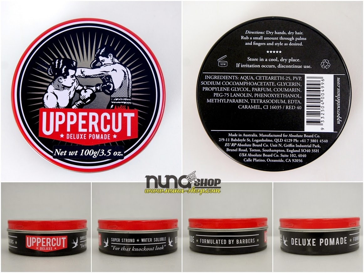 Uppercut Deluxe Featherweight Hair Wax Pomade Product Quiff Mens Rockabilly in Health & Beauty, Hair Care & Styling, Styling Products