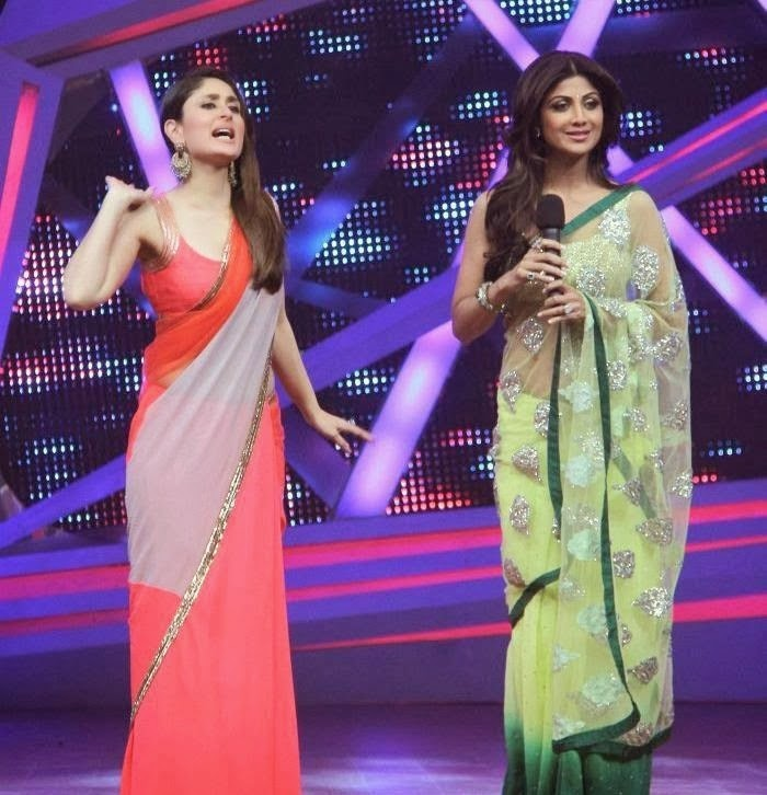 Kareena Kapoor Khan & Shilpa Shetty :Kareena Kapoor, Shilpa Shetty Sizzle On Nach Baliye 6 Hottest HD Photos