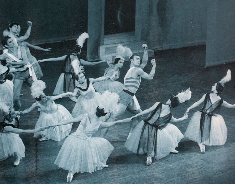 Temporada do Royal Ballet:Os Bichos [Les Biches] (Londres, 1964).
