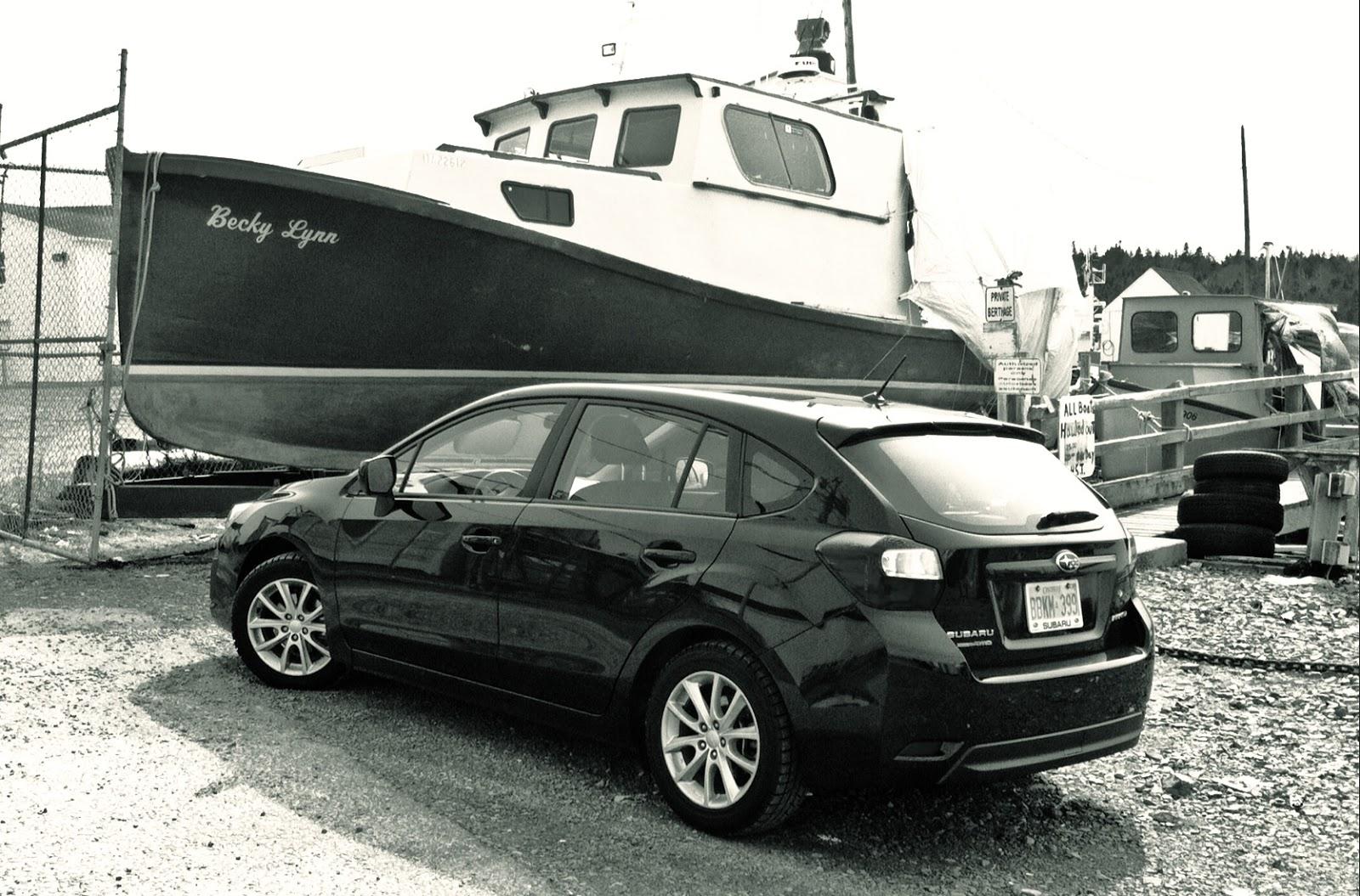 2014 Subaru Impreza hatchback Touring rear