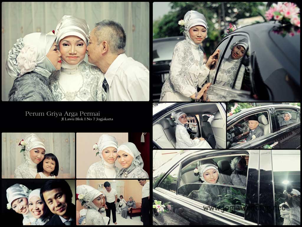 Foto Wedding – Foto Kolase Pernikahan Ayu &Meris