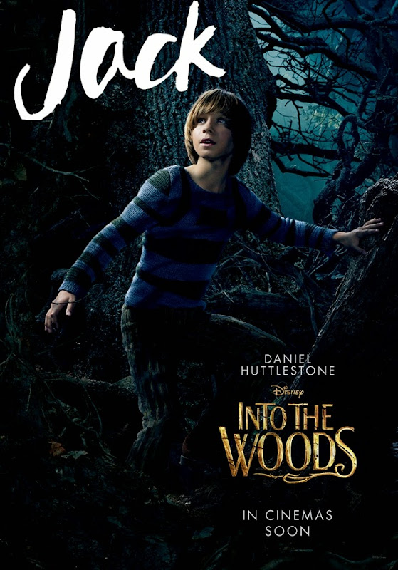 Into the Woods Jack movie poster