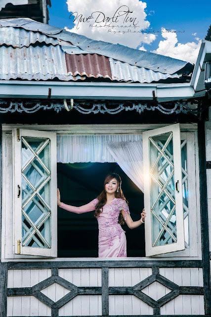 Darli Tun - Pink Gorgeous Myammar Model