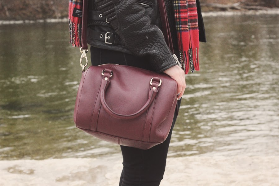 marks and spencer leather bag
