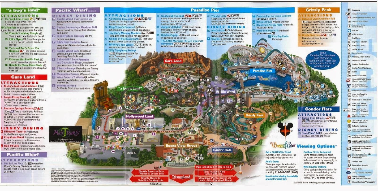 Disneyland 2015 Map | Search Results | Calendar 2015