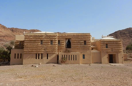 Hotel ecológico en Jordania