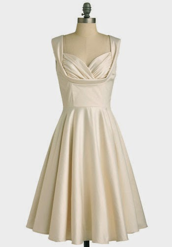 Teenage fanatic wedding dress debate can you wear white to a aisle be there dress in lily by modcloth junglespirit Images