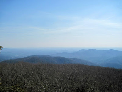 View from Blood Mountain summit