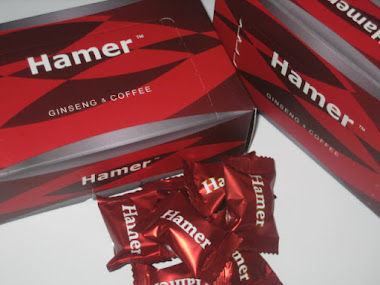 HAMER candy ginseng coffee