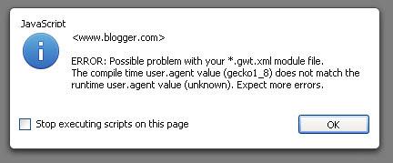 error gwt.xml module