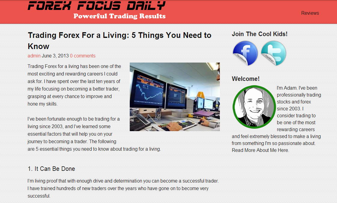 Forex Focus Daily