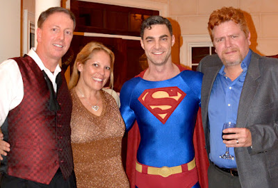 wanderlust ATLANTA Party | Travis, Carrie, Superman, Steven