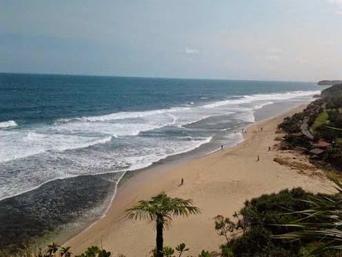 Pantai Sepanjang Gunungkidul Pantai Kuta Nya Yogyakarta Wisata Indonesia