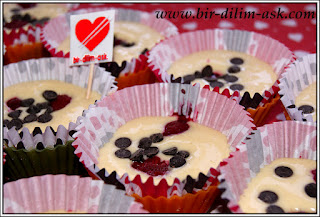Frambuazlı Cupcake tarifi