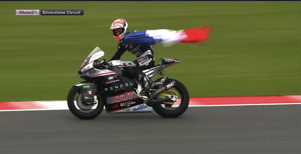 Johann Zarco juara Moto2 Silverstone Inggris