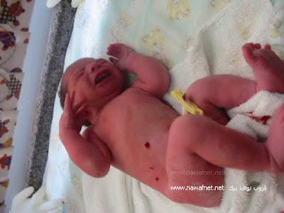 Bayi lahir didalam tanah