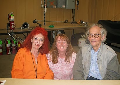 with Christo and Jeanne Claude