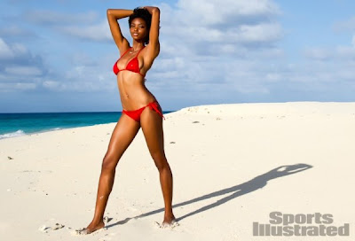 STORIES WALL LIFESTYLE - Black Girl Sports Illustrated Adaora Akubilo