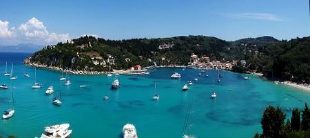 Vistas de Paxos - Islas Griegas