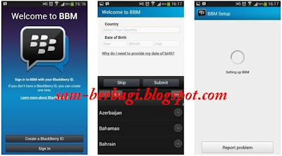 Cara Mengganti Blackberry ID di Android dan iPhone