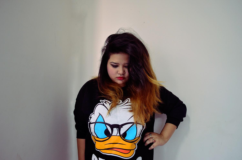 Sheinside - Genius sweatshirt