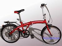 Sepeda Lipat Viva Cycle Gorin 7 Speed Disc Brake 20 Inci