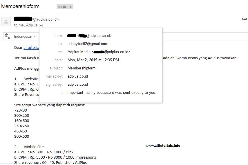Membership AdPlus.co.id