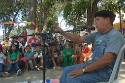 Luis Cedeño cuenta en Puerto Cabello