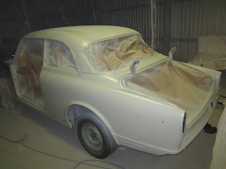 Body Amazon in 2K epoxy primer