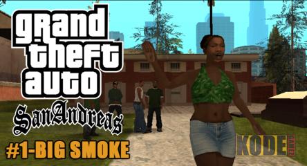 Save Game GTA Sa Misi Big Smoke lengkap