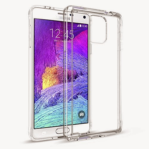 Maxboost [Clear Cushion] Samsung Galaxy Note 4 Case Bumper