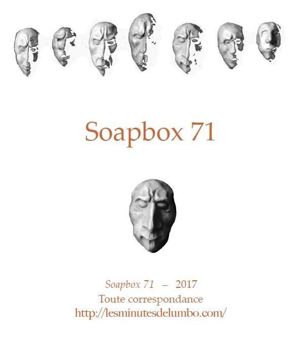 SOAPBOX 71, Feuillet de l'Umbo2017