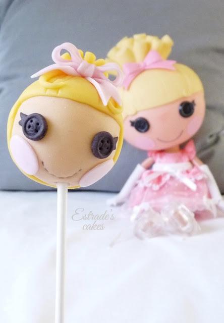 cake pop Lalaloopsy Cenicienta - 05
