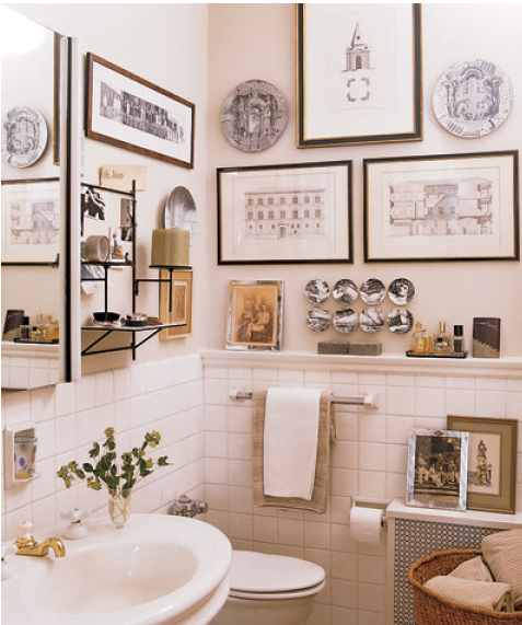 Fasetten konst i badrum och toaletter - Quadri da appendere in bagno ...