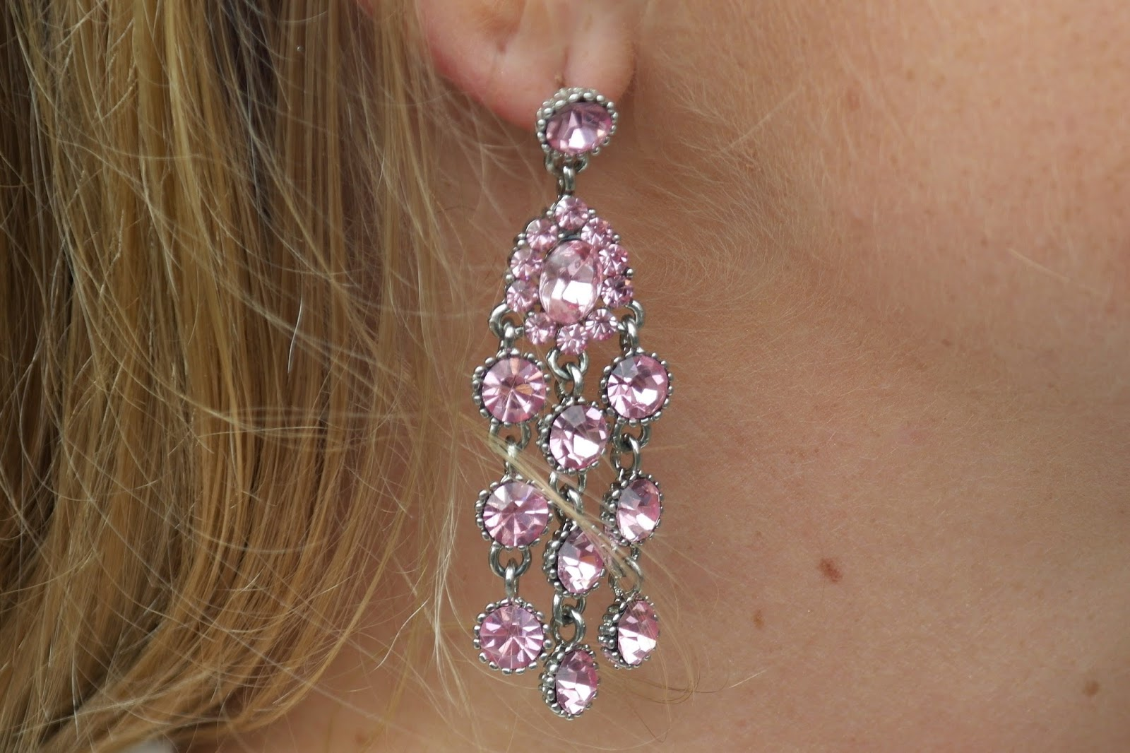 Glitzy Secrets earrings