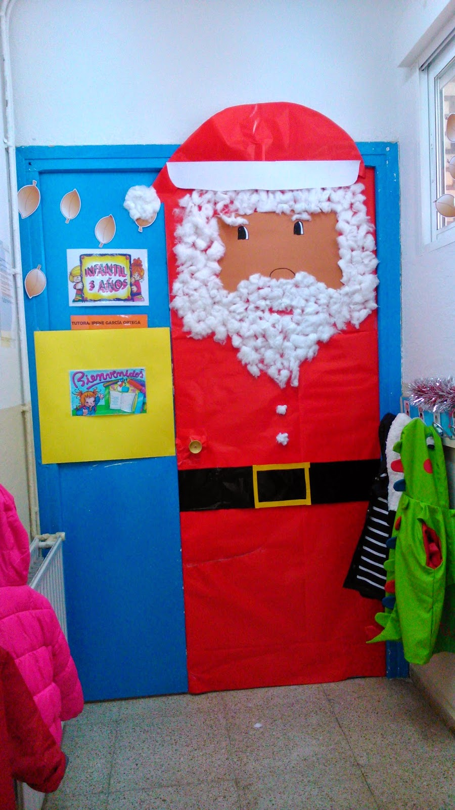 Engranajes decoraci n de navidad de las puertas en infantil for Puertas navidenas decoradas 2014