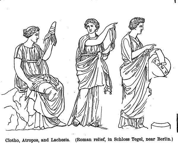 Mitología Griega] Las Moiras | Black Moral Яesistance
