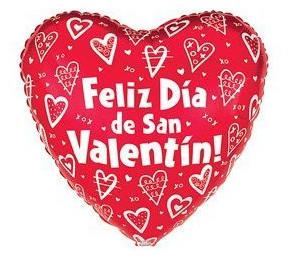 valentines day in spanish Description two letters in spanish that a couple wrote for valentine's dayone of the letters is romantic, while the other is crazy (not at all romantic) due to some of the vocabulary, these letters would ideally be for spanish 2 level students.
