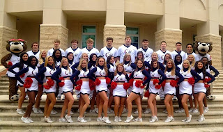 South Alabama's Cheerleading Team 2013-2014
