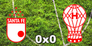 Santa Fé 0-0 Huracán
