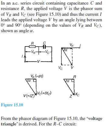 rc series a c circuits basic electronics rh studyelectronics blogspot com series rlc circuit tutorial series circuit tutorial
