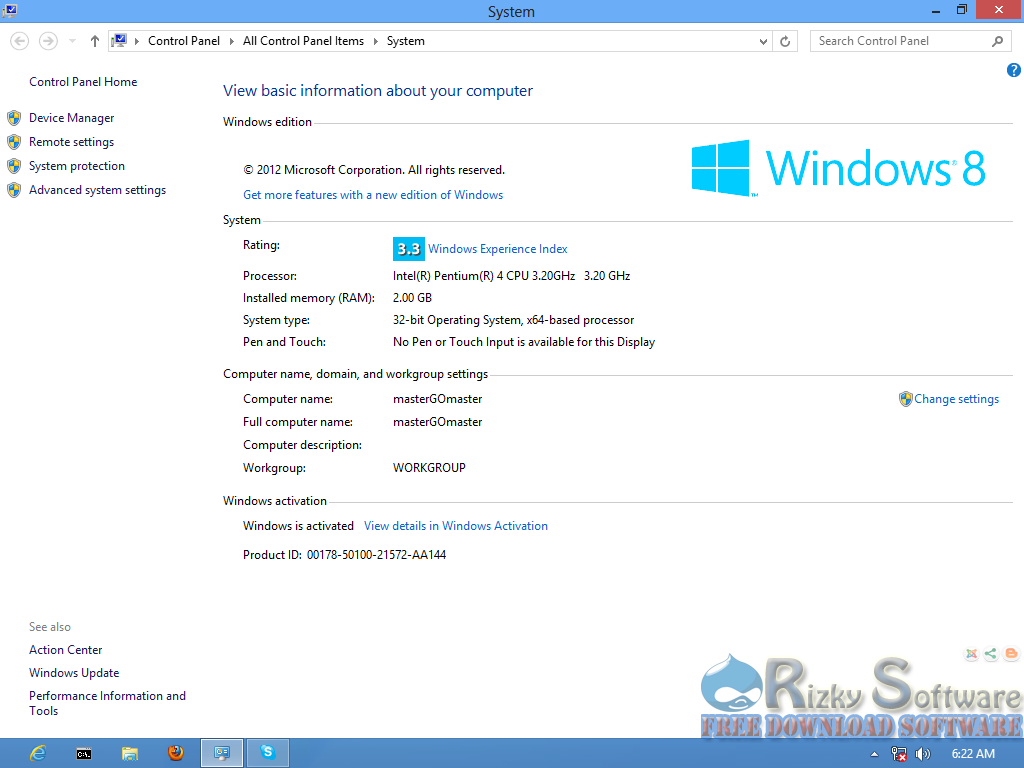 Download windows 8 32 bit 64 bit free crack full for Window 32 or 64