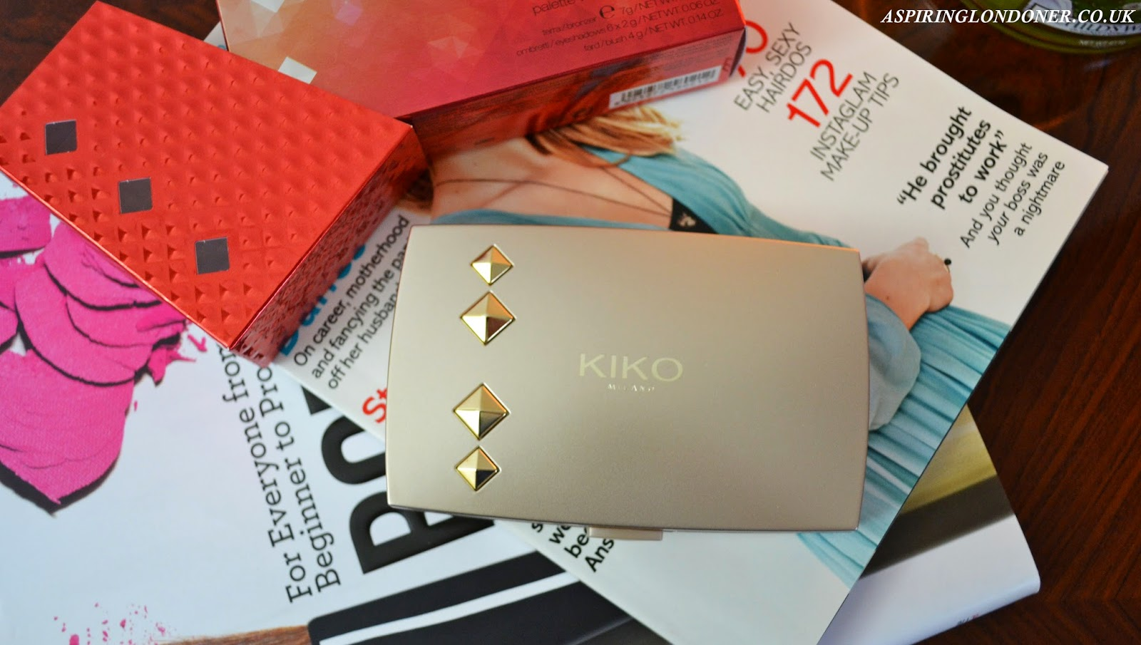Kiko Haute Punk Collection Beauty Apotheosis Total Look Palette Review & Swatches - Aspiring Londoner