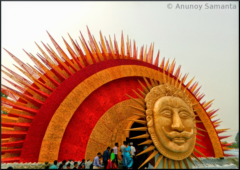 Durga Puja 2014 - Puja Pandals of Durgapur on Vijayadashami