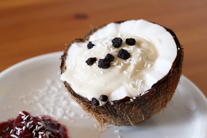 chili und vanille foodblog mit veganes bananen kokos eis. Black Bedroom Furniture Sets. Home Design Ideas