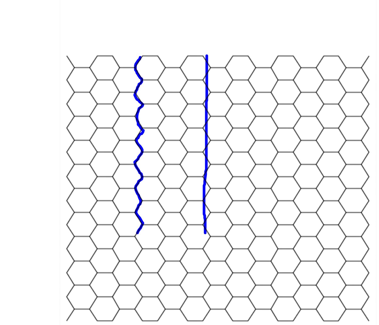 image regarding Printable Hex Grid titled Hexagonal Grid