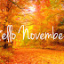 Haappy New Month.. NOVEMBER PLEASE BE NICE TO US.