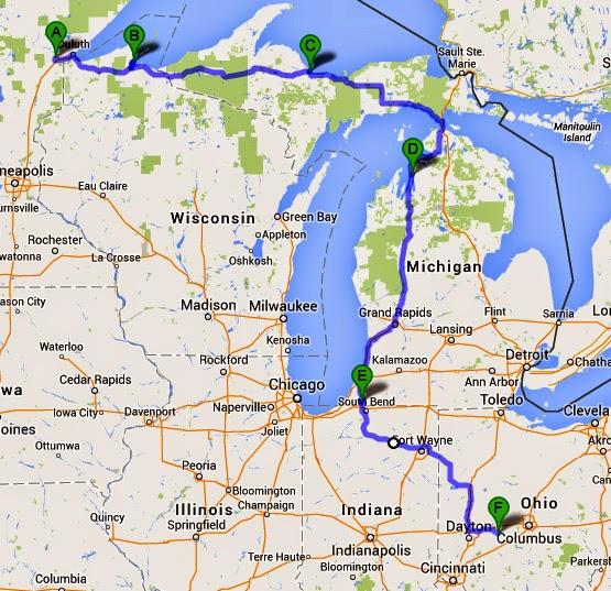 Buchanan Michigan Map.Cummings And Goings Bear Cave Resort Buchanan Michigan