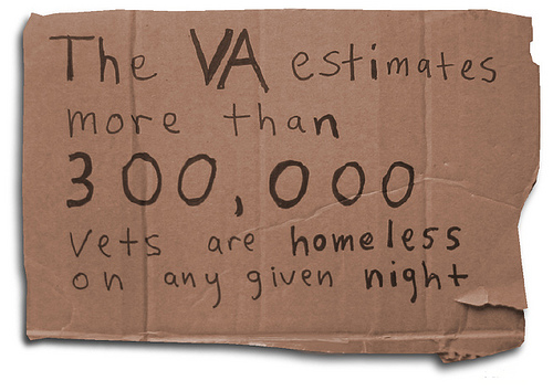 the threat of homelessness amongst our veterans Why are veterans homeless although many homeless veterans served in combat in vietnam and suffer from ptsd, at this time.