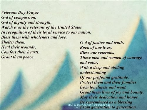 Free Veterans Day Prayers and Poems